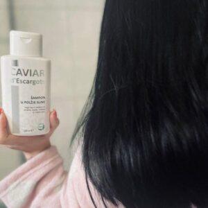 Šampon iz polžje sline